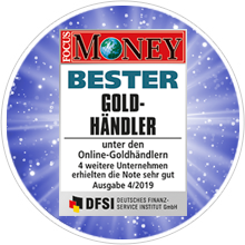 FOCUS MONEY Goldhändler-Test 2019: philoro mehrfacher Testsieger