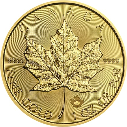 Gold Maple Leaf 1/1 - 2021