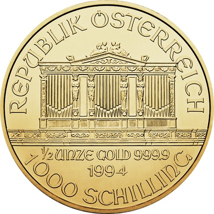 Gold Philharmoniker 1/2
