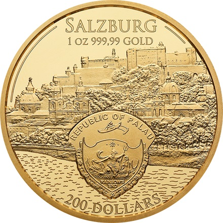 Gold Mozart Coin 1/1 - philoro
